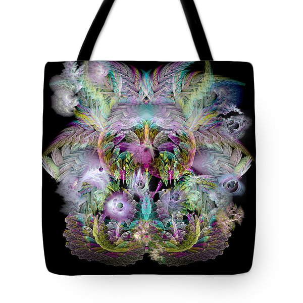 Fractal Grasses Tote Bag