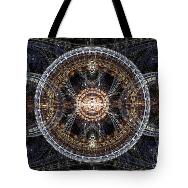 Fractal Inception Tote Bag by Martin Capek