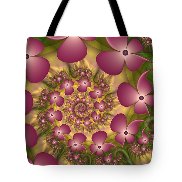 Fractal Joy Tote Bag