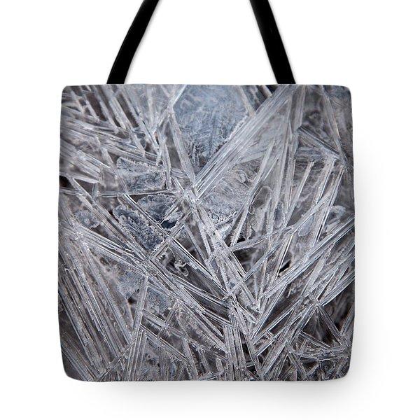 Frozen Fractal Tote Bag