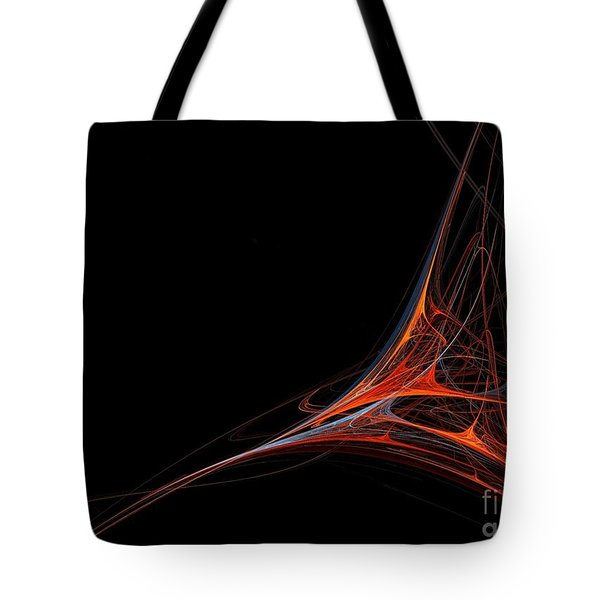 Tote Bag featuring the photograph Fractal Red by Henrik Lehnerer