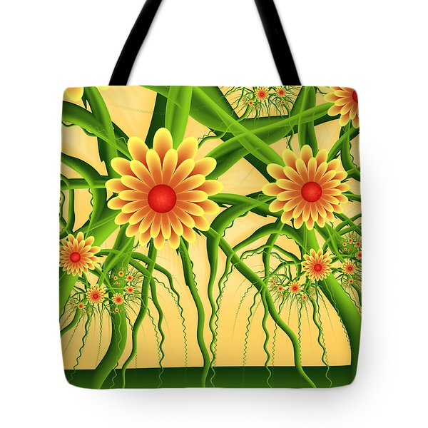 Fractal Summer Pleasures Tote Bag