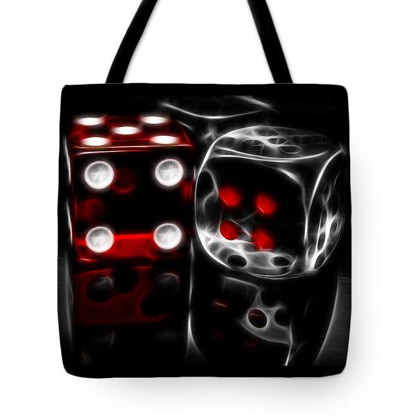 Fractalius Dice Tote Bag