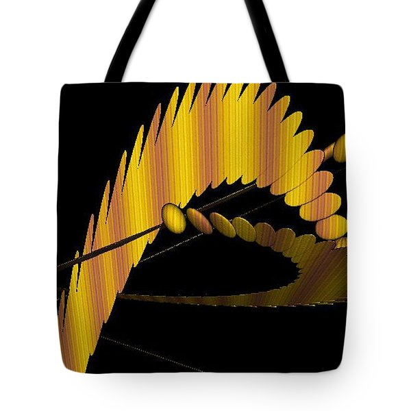 Fractals 3 Tote Bag by Mikki Cucuzzo