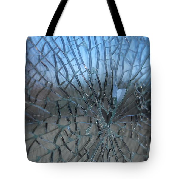 Fractured Heart Tote Bag