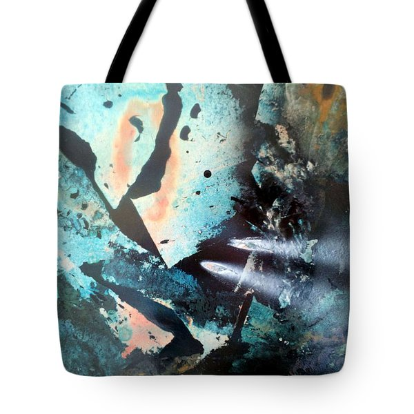Fractured Planet Tote Bag