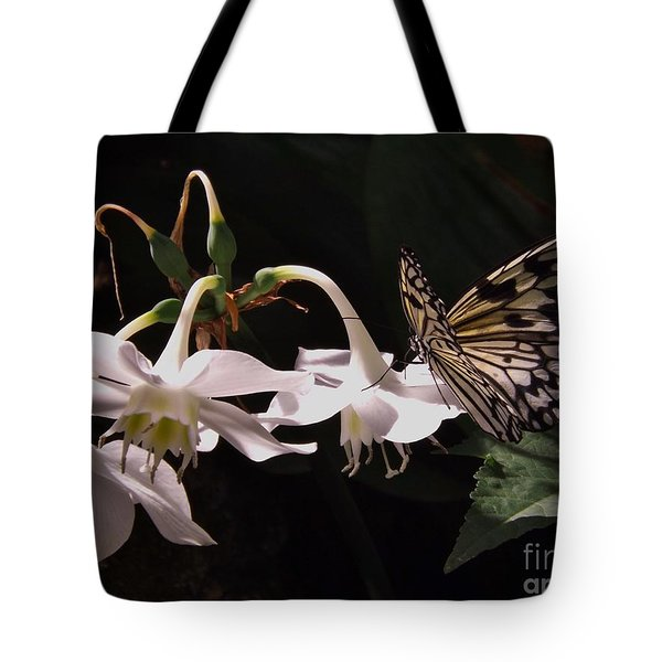Fragile Beauty Tote Bag