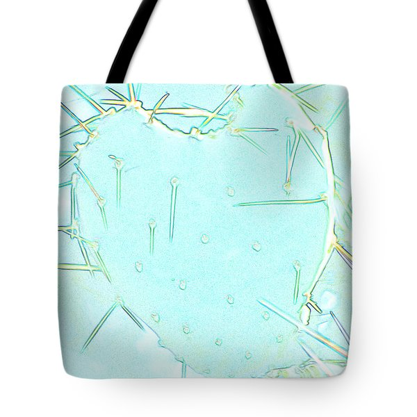 Tote Bag featuring the photograph Fragile Heart by Roselynne Broussard