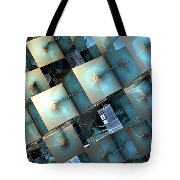 Fragmentary Tote Bag by Kevin Trow