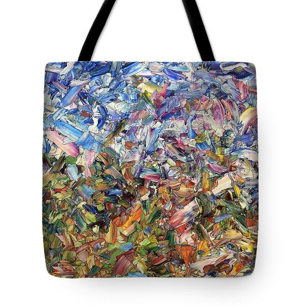 Fragmented Garden Tote Bag