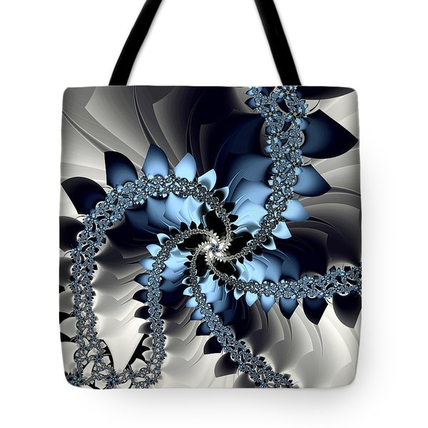 Fragments Tote Bag by Kevin Trow