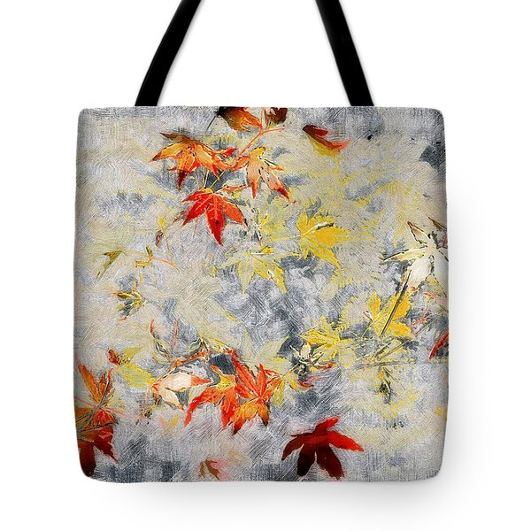 Fragments Of Fall Tote Bag by RC deWinter