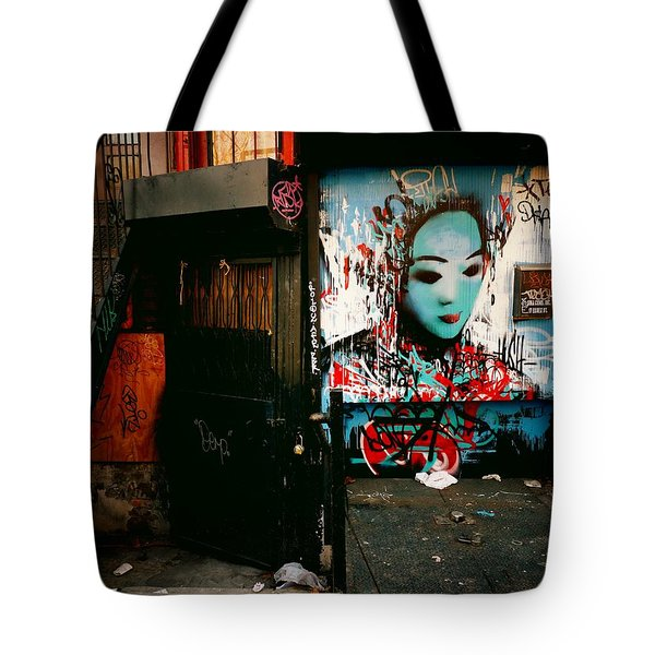 Fragments - Street Art - New York City Tote Bag by Vivienne Gucwa