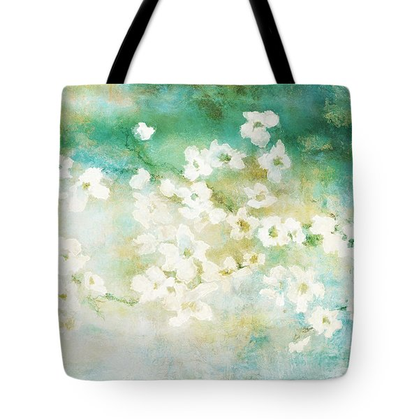 Fragrant Waters - Abstract Art Tote Bag by Jaison Cianelli