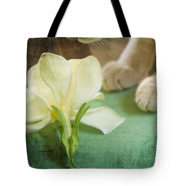 Fragrant Gardenia Tote Bag