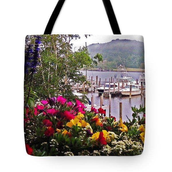 Fragrant Marina Tote Bag