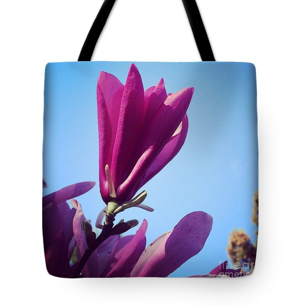 Tote Bag featuring the photograph Fragrant Silence by Kerri Farley