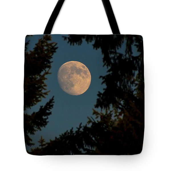 Framed Moon Tote Bag