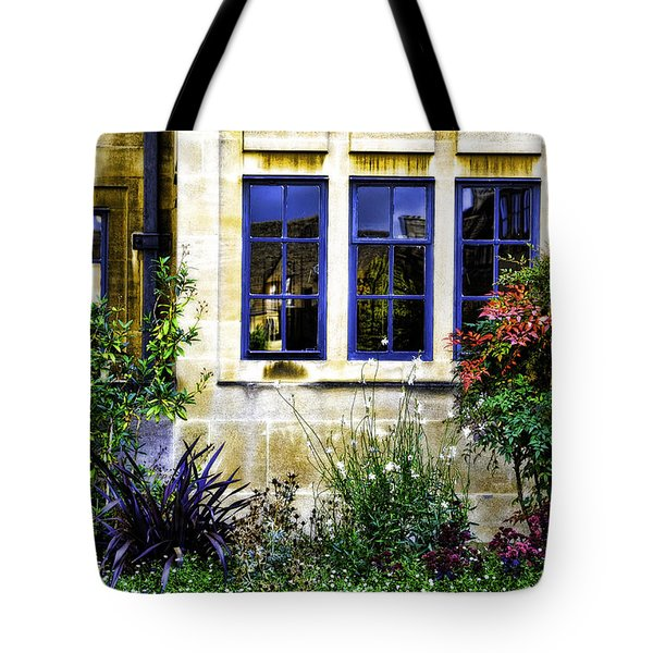 Framing In Blue  Tote Bag by Joanna Madloch