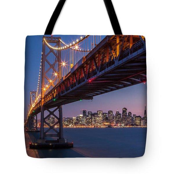 Tote Bag featuring the photograph Framing San Francisco by Mihai Andritoiu
