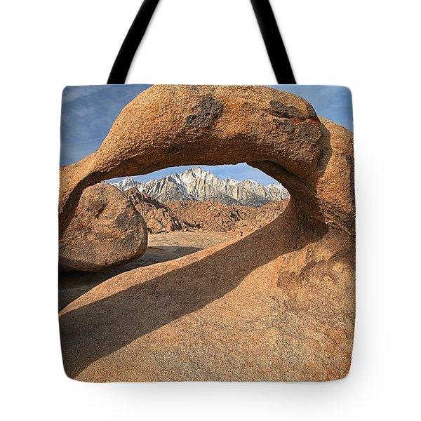 Framing The Sierras Tote Bag