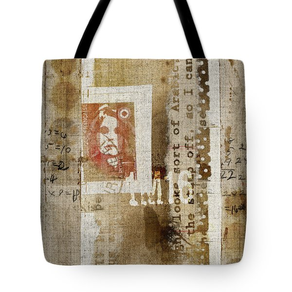 France 1m16 Collage Tote Bag