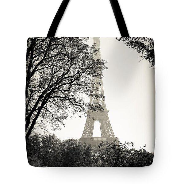 The Eiffel Tower Paris France Tote Bag