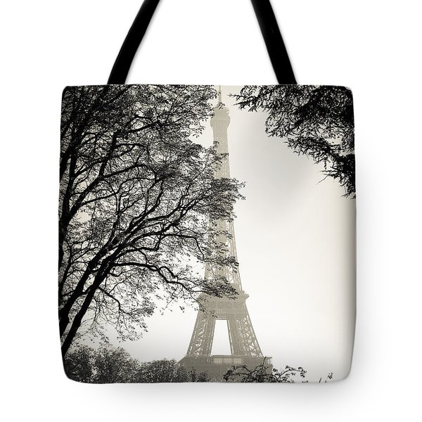 The Eiffel Tower Paris France Tote Bag