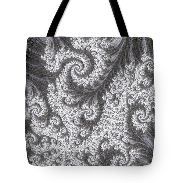 Franciful Frost  Tote Bag by Heidi Smith