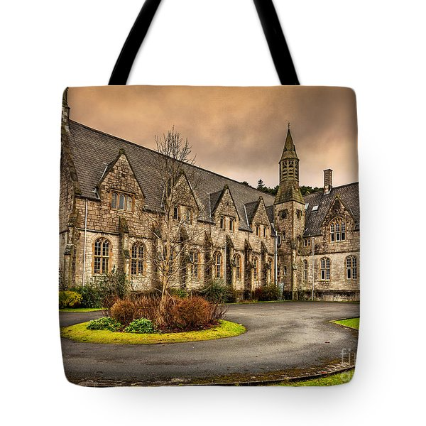 Franciscan Friary Tote Bag by Adrian Evans
