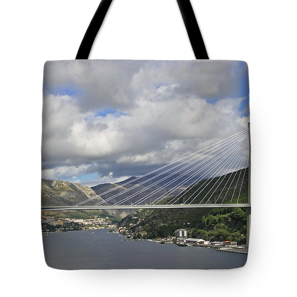 Franjo Tudman Bridge Tote Bag