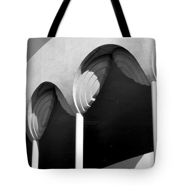 Frank Lloyd Wright Designed Auditorium Detail Tote Bag by Karyn Robinson