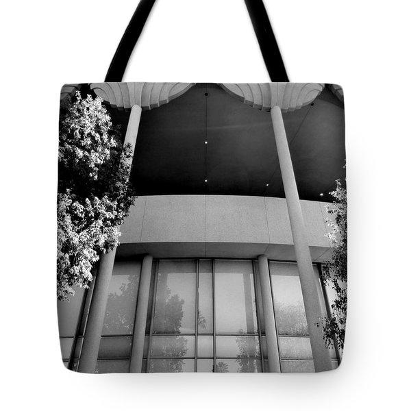 Frank Lloyd Wright Designed Auditorium Tote Bag by Karyn Robinson