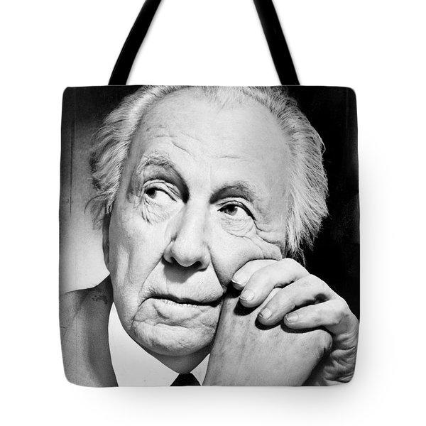 Frank Lloyd Wright Tote Bag by Granger