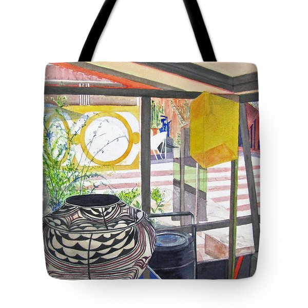 Frank Lloyd Wright Taliesin West Tote Bag