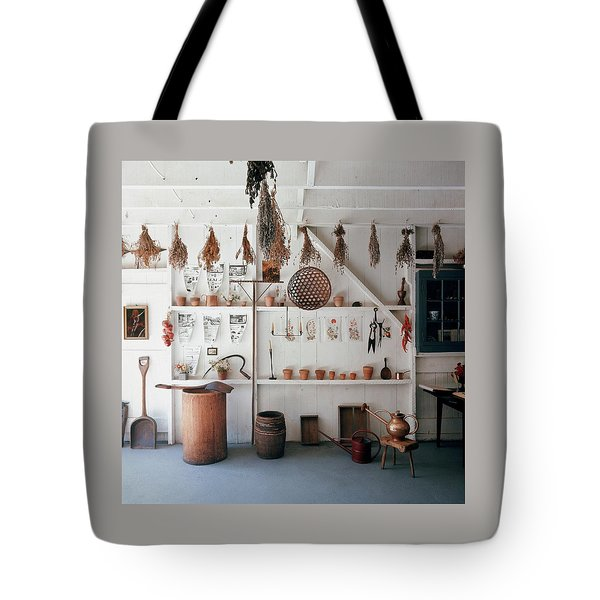 Frank Macgregor Smith's Gardening Area Tote Bag