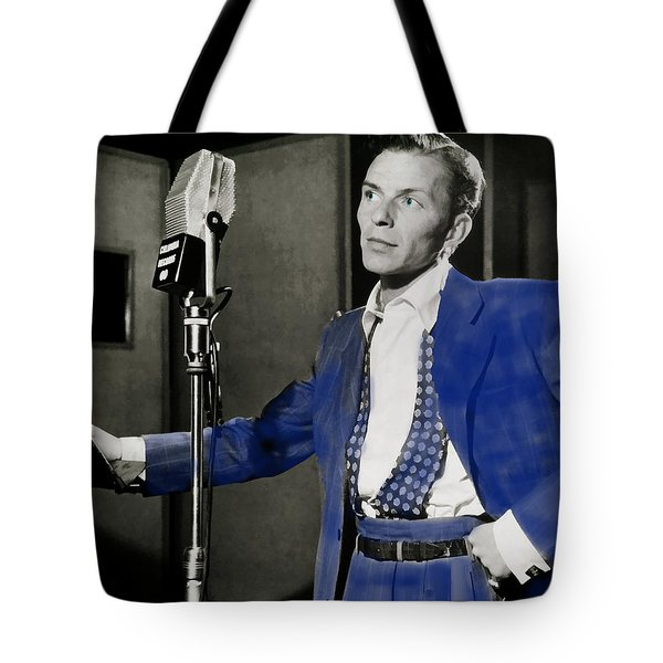 Frank Sinatra - Old Blue Eyes Tote Bag