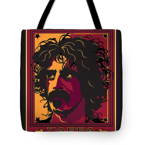 Frank Zappa Tote Bag by Larry Butterworth