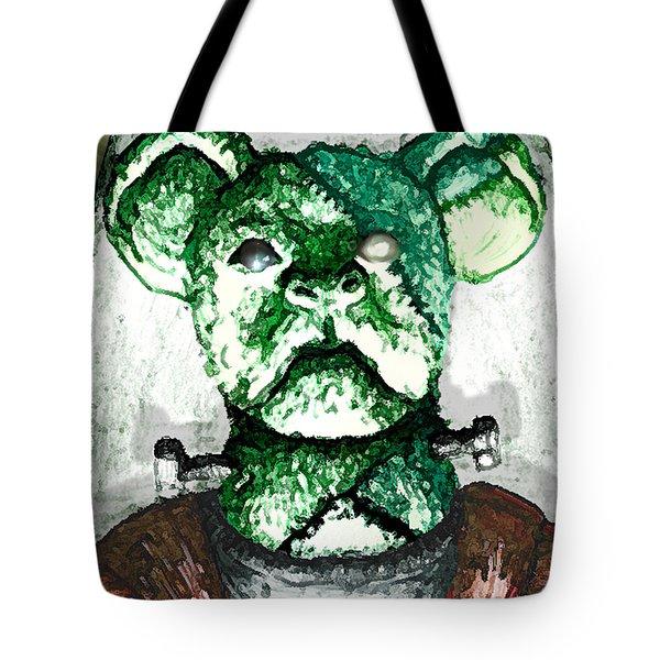 Frankenstein's Koala Tote Bag by Del Gaizo
