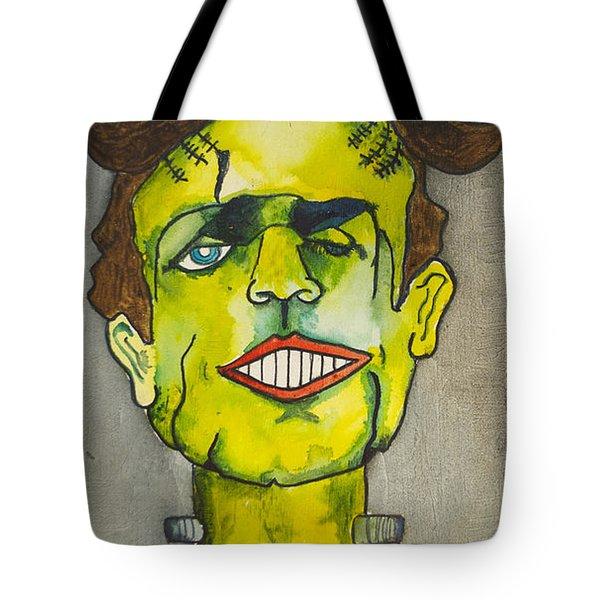 Frankensteins Monster As Tillie Tote Bag by Patricia Arroyo