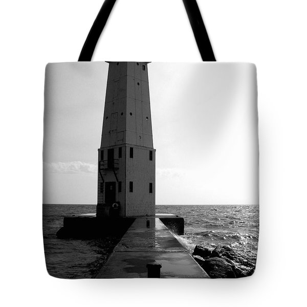 Frankfort Michigan Lighthouse Ll Tote Bag
