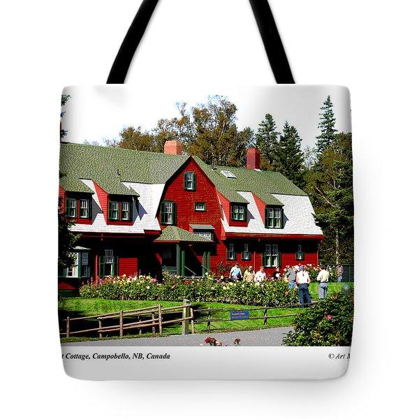 Franklin D. Roosevelt Cottage Campobello Nb Tote Bag