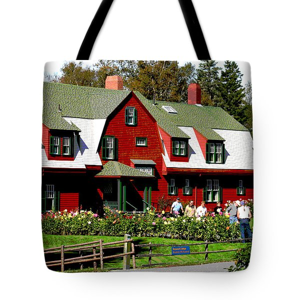 Franklin D. Roosevelt Cottage Campobello Nb Tote Bag