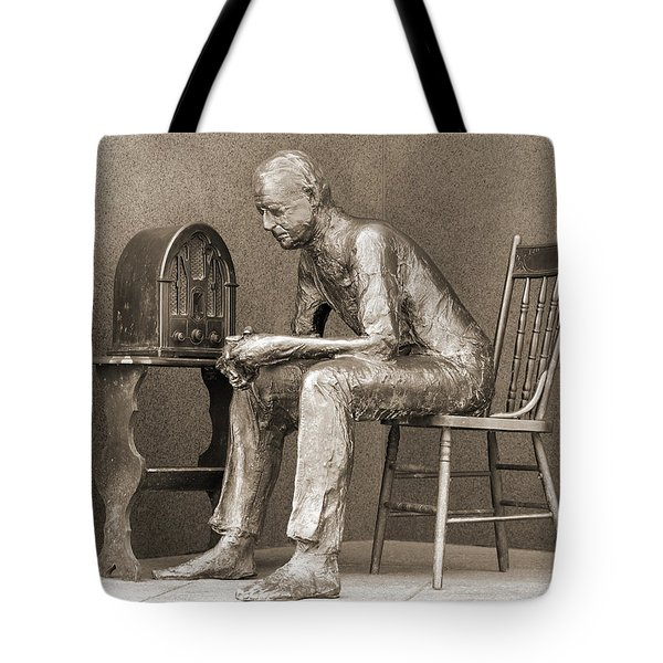 Franklin Delano Roosevelt Memorial - Bits And Pieces 5 Tote Bag by Mike McGlothlen