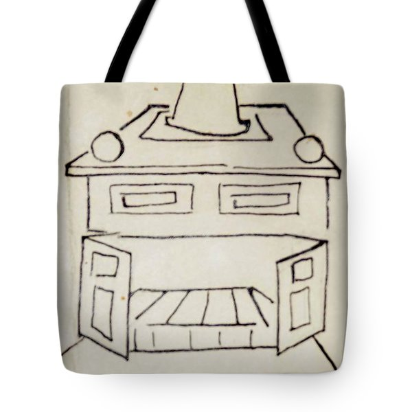 Franklin Tote Bag by Erika Chamberlin