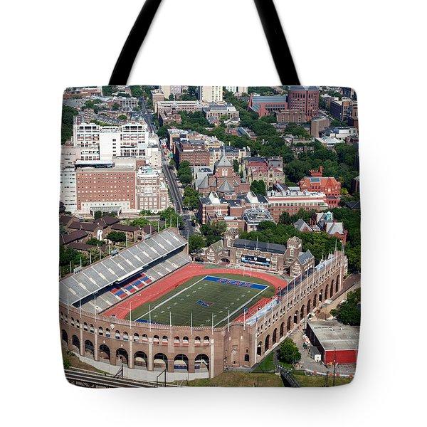 Franklin Field University City Pennsylvania Tote Bag by Bill Cobb