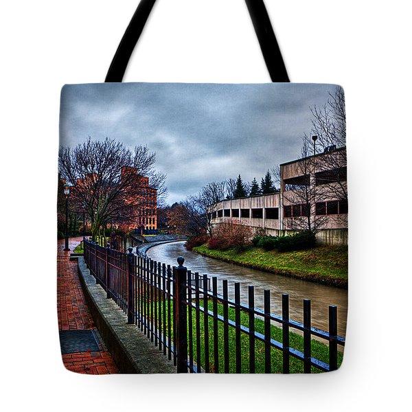Franklin Park Tote Bag by Everet Regal