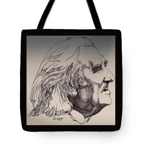 Franz Liszt Tote Bag by Derrick Higgins