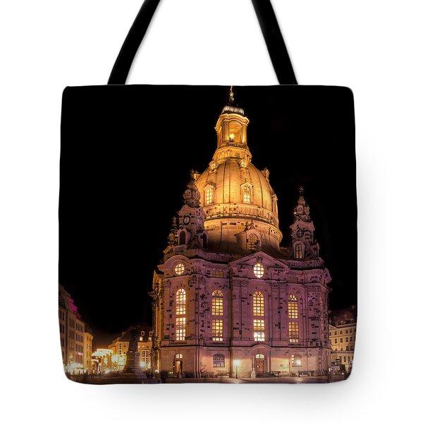Frauenkirche Tote Bag by Steffen Gierok