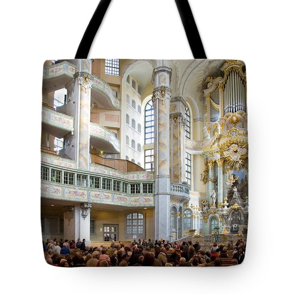 Frauenkirche Tote Bag by William Beuther